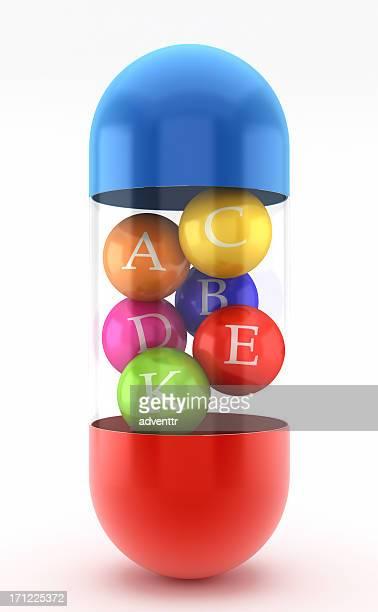 Multi-vitamin-pill