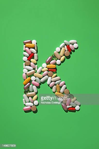 Multi-vitamin pills and capsules