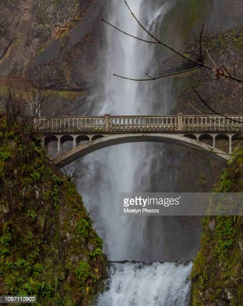 Multnomah Falls 12-2018 - Troutdale OR - Pano