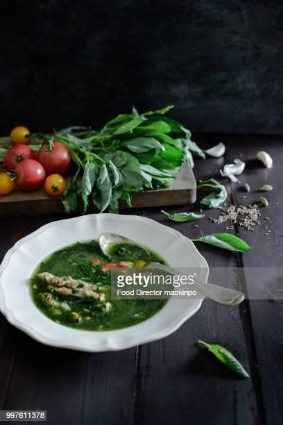 Mulukhiya soup.