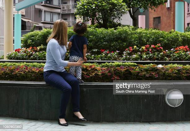 Mum Katherine and her daughter who suspects she was being cheated by a selfproclaimed baby sleep trainer 28APR17 SCMP / Jonathan Wong