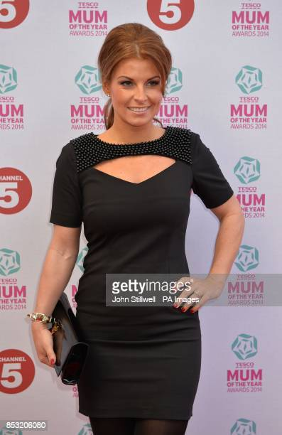 Mum of the Year ambassador Coleen Rooney arriving at the Tesco Mum of the Year Awards celebrating Britain's most inspirational mothers at The Savoy...