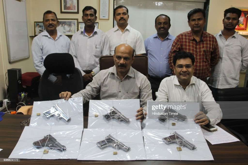 Mumbai Anti Extortion Cell Arrested History Sheeter With Six Illegal Fire Arms
