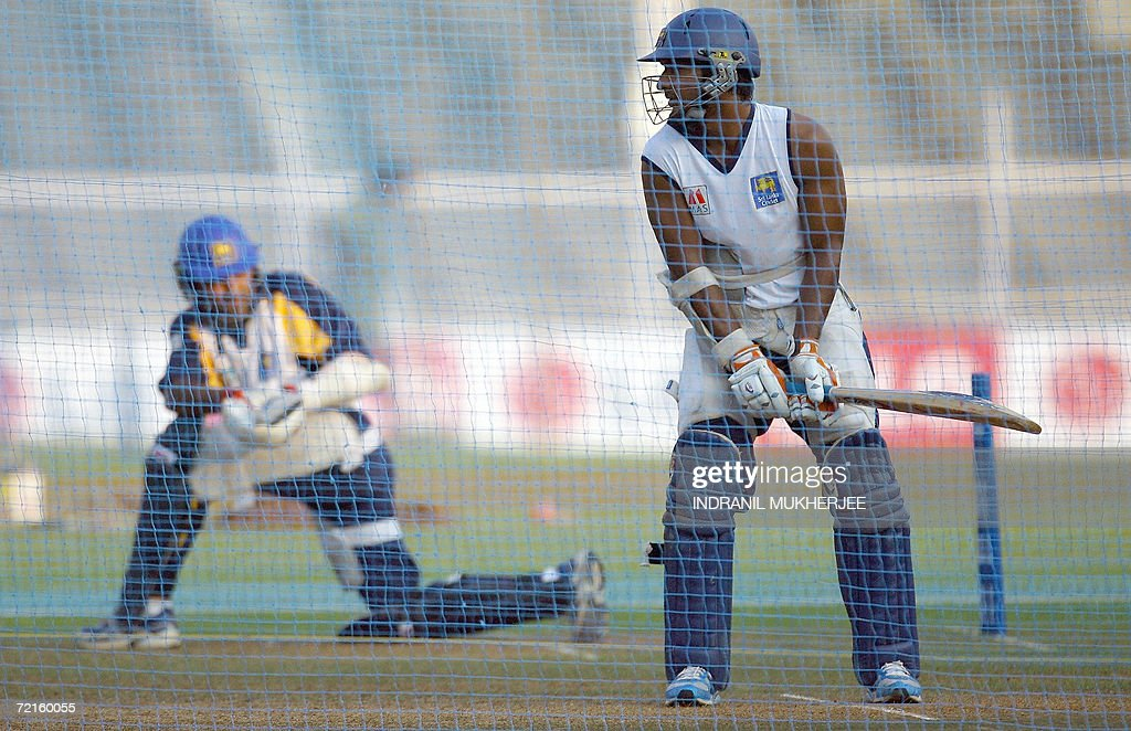 Sri Lankan cricketers Marvan Attapattu ( : News Photo