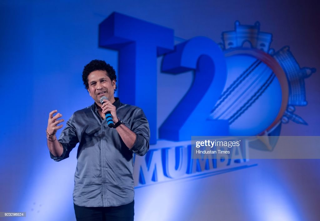 Legendary Batsman Sachin Tendulkar Attends Celebratory Atmosphere At Taj Lands End