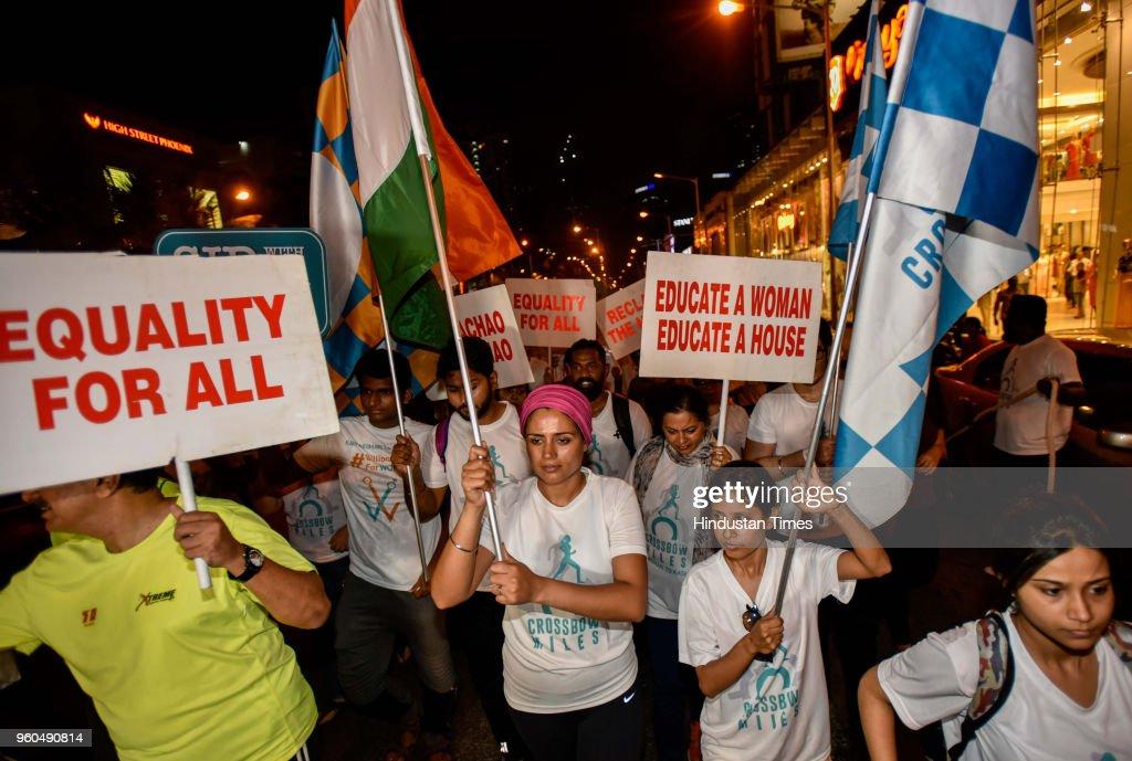 CrossBow Founder Srishti Bakshi Organises A Mumbai Night Walk To Reclaim The Night As A Safe Space For Women