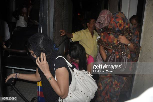Mumbai police social service branch raided Lotus Bar at Grant Road on Friday and arrested bar girls under Bombay Police Act