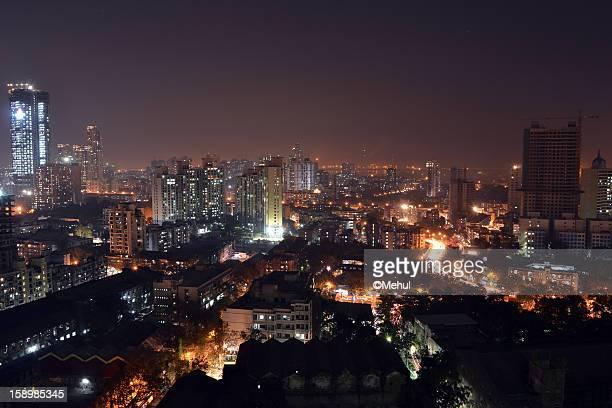 mumbai skyline - mumbai stock pictures, royalty-free photos & images