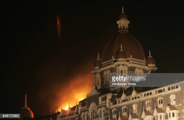26/11 Mumbai Under Terror Attack Firing Fire at Taj hotel the fire occured on the second day The reason of the fire is reportedly said due to the...