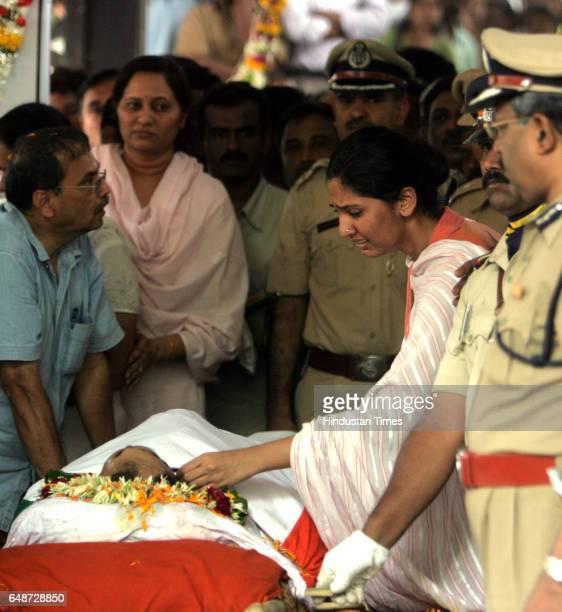 Mumbai under Terror attack Hemant Karkare funeral