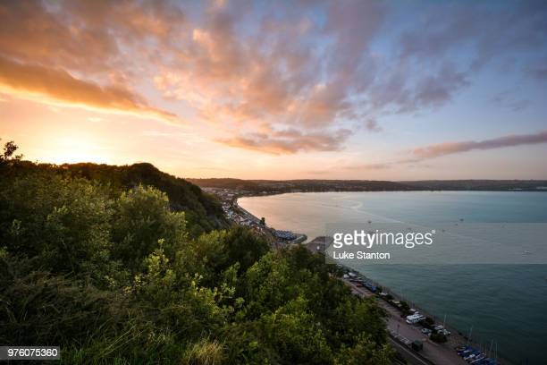 mumbles hill 2 - mumbles stock photos and pictures