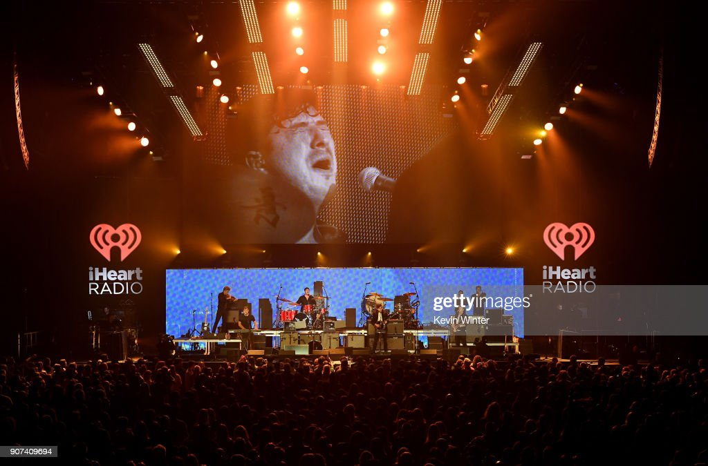 Mumford & Sons performs onstage during iHeartRadio ALTer Ego