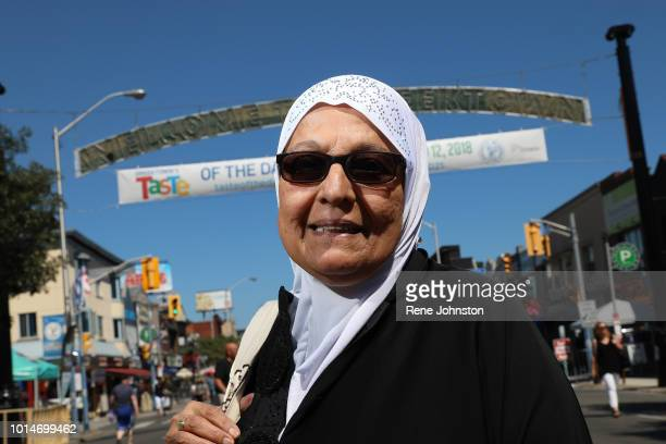 TORONTO ON Muminr Amin said' This did not make me feel good very sad' photographed on the Danforth on Friday the first night of the festival August...