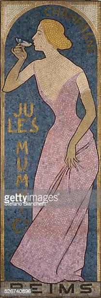 Mumm Champagne Mosaic