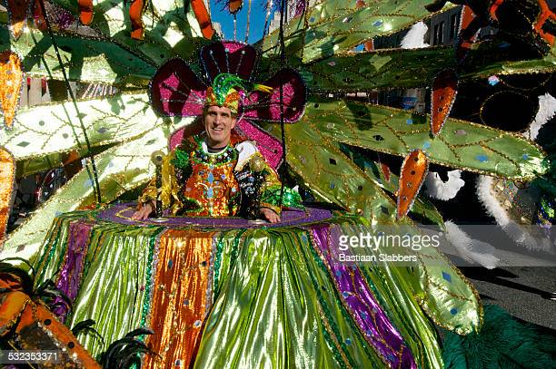 mummer at annual phily folk new years day parade - basslabbers, bastiaan slabbers stock pictures, royalty-free photos & images