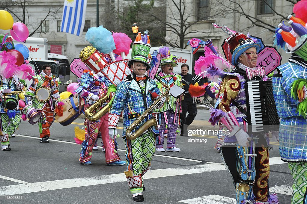 Mummer's Parade in Philadelphia : Stock Photo