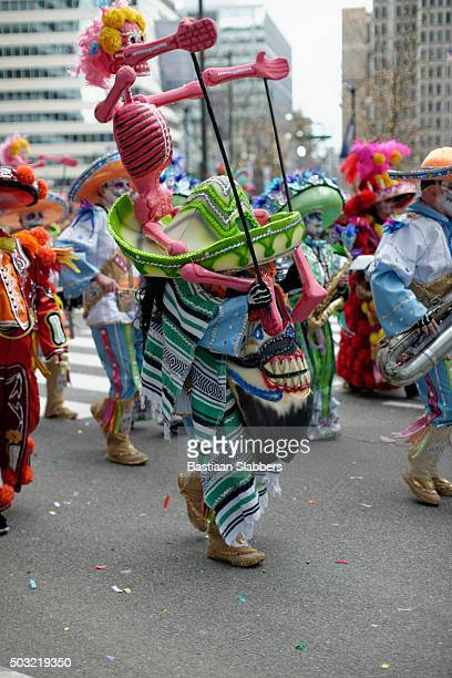 Mummers parade on New Years Day