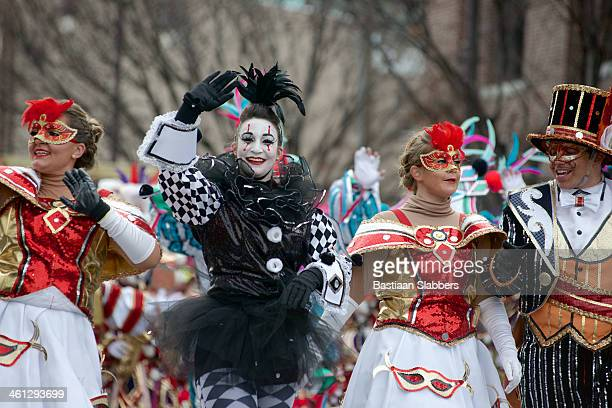Mummers strut during Philly's New Years Day Parade