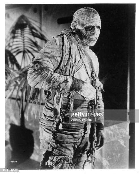 A mummy in a scene from the film 'The Mummy' 1932
