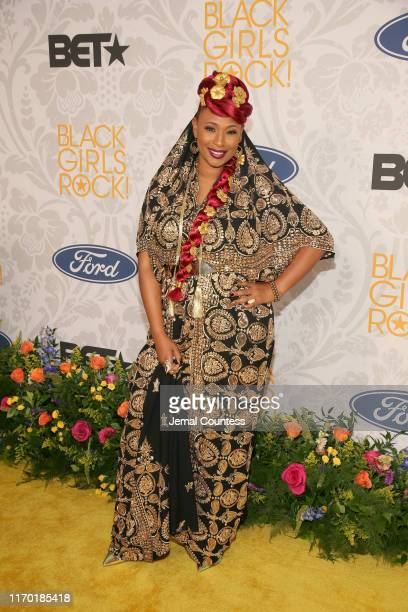 Mumu Fresh attends Black Girls Rock 2019 Hosted By Niecy Nash at NJPAC on August 25, 2019 in Newark, New Jersey.