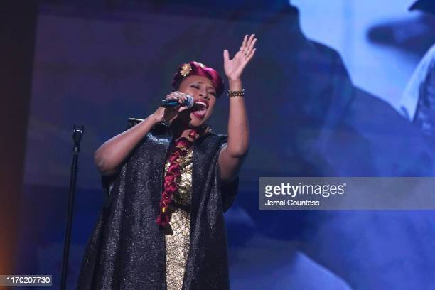Mumu Fresh performs onstage at Black Girls Rock 2019 Hosted By Niecy Nash at NJPAC on August 25 2019 in Newark New Jersey