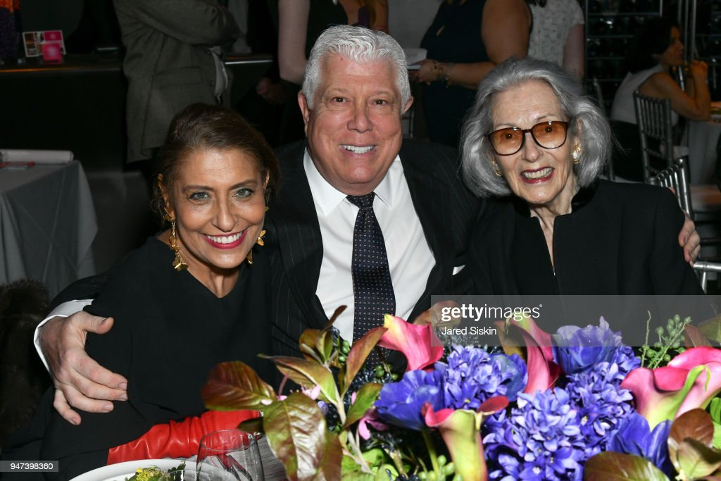 Muna Rihani Al-Nasser, Dennis Basso and Barbara Tober attend The Museum of Arts and Design (MAD) Presents