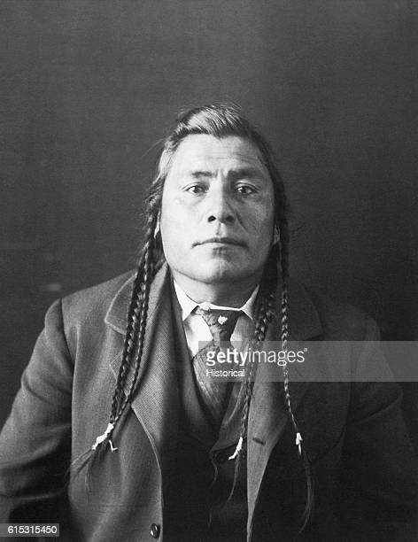 MuNahxkWaiyo at 38 the chief of the Great Plains Blackfoot tribe during the late nineteenth century