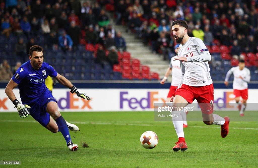 FC Salzburg v Vitoria Guimaraes - UEFA Europa League : News Photo