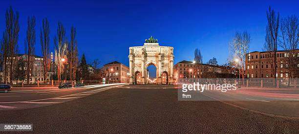 Munchen, Germany - Siegestor blue hour