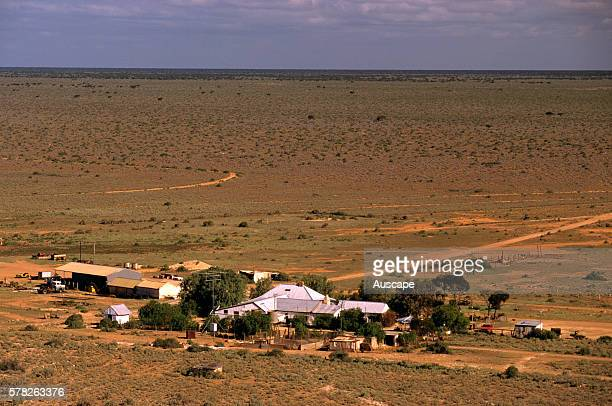 Mundrabilla Station established in 1872 the first sheep station on the Nullarbor Plain Nullarbor Plain Western Australia Australia
