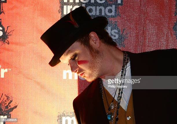 Mundy arrives at the Meteor Ireland Music Awards on March 17 2009 in Dublin Ireland