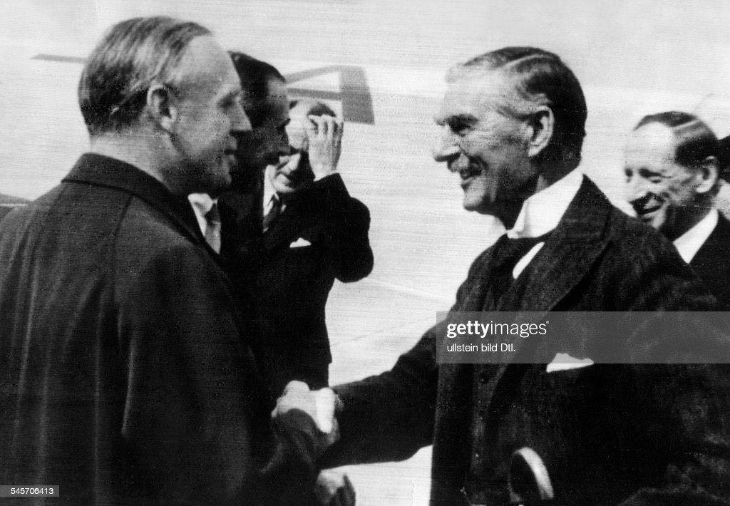 Munich Agreement Foreign Minister Joachim Von Ribbentrop Greeting
