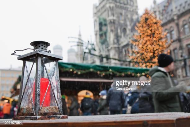 munich christmas market at marienplatz - marienplatz stock pictures, royalty-free photos & images