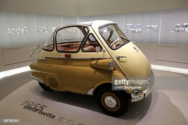 GERMANY Munich Cult Car of 1955 BMW Isetta in the BMW museum