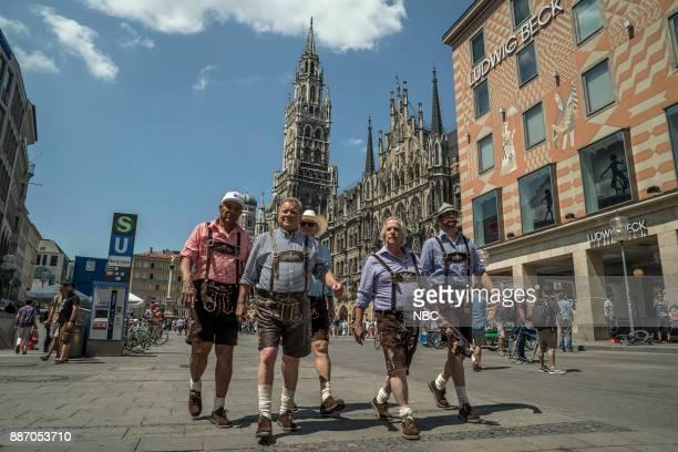 NEVER 'Munich' Episode 201 Pictured George Foreman William Shatner Terry Bradshaw Henry Winkler Jeff Dye