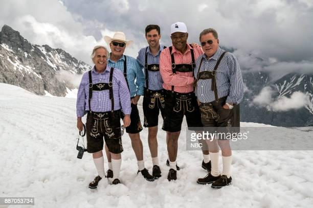 NEVER 'Munich' Episode 201 Pictured Henry Winkler Terry Bradshaw Jeff Dye George Foreman William Shatner
