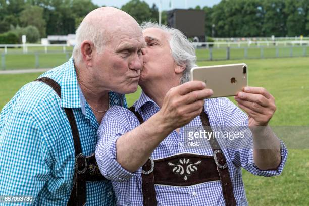 NEVER 'Munich' Episode 201 Pictured Terry Bradshaw Henry Winkler