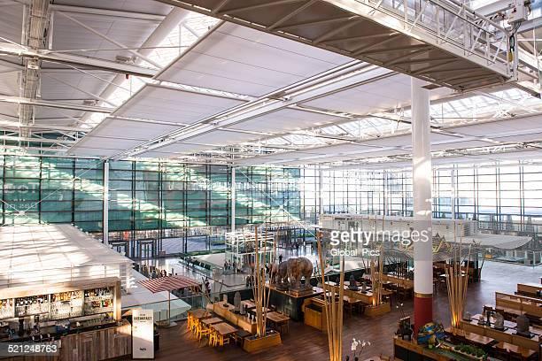 munich - frantz josef strauss airport - munich airport stock photos and pictures