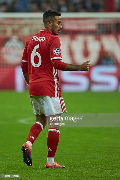 Munich Germany UEFA Champions League 2016/17 Season Group D Matchday 3 FC Bayern Muenchen PSV Eindhoven Thiago
