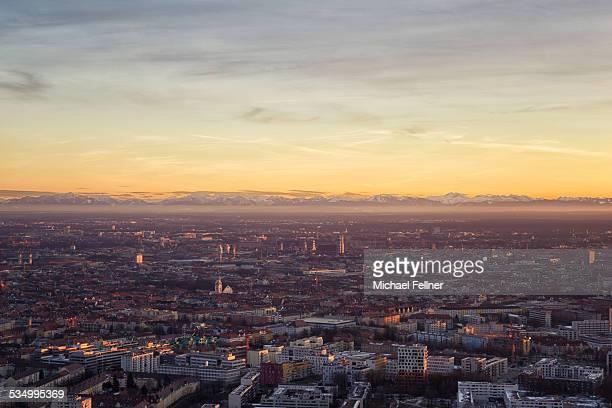 Munich in evening light