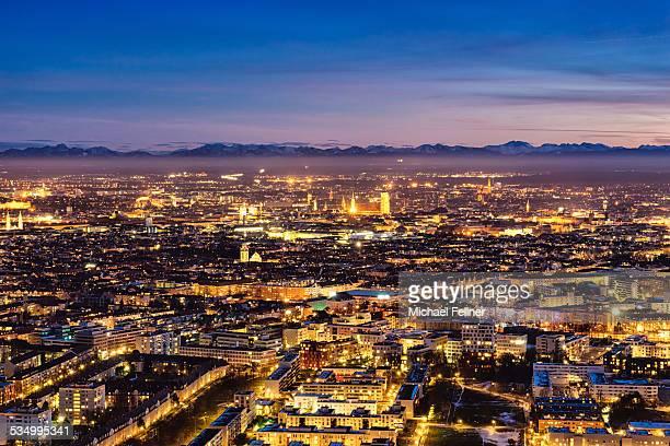 Munich in late evening
