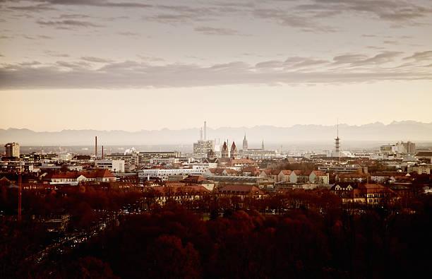 Munich Skyline Wall Art