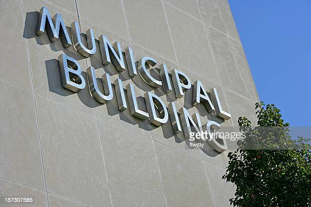 municipal building close-up - town hall stock pictures, royalty-free photos & images