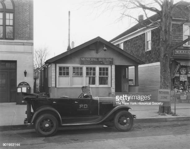 Municipal Building Police Station Court Room exterior Lindenhurst New York 1929