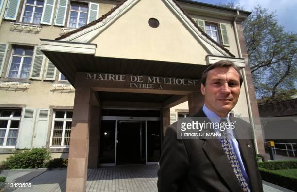 Municipal JM Bockel Mayor of Mulhouse On May 1st 1995