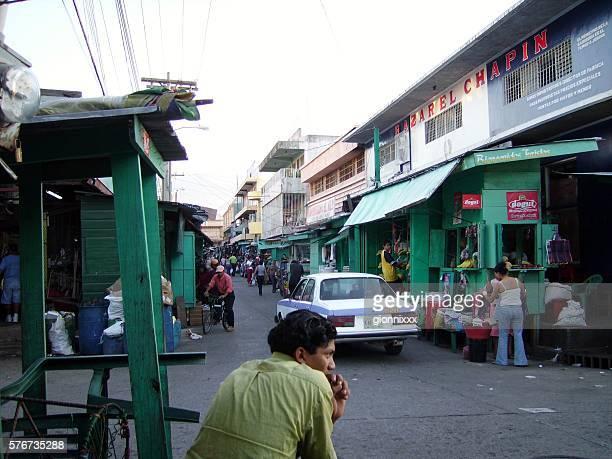 Municipal market in La Ceiba, Honduras