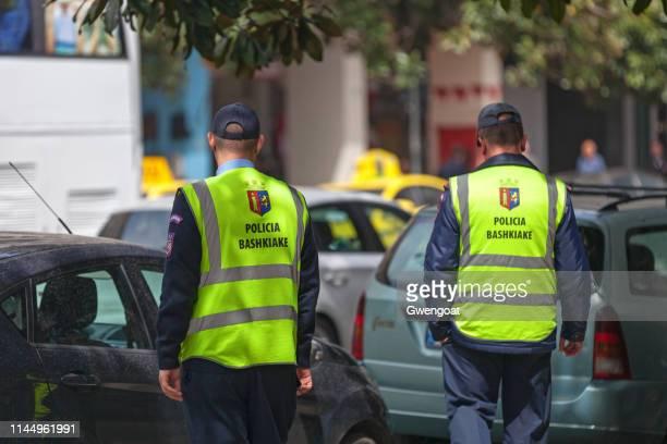 Municipal policemen of Tirana