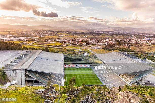 Municipal Stadium of FC Braga from above
