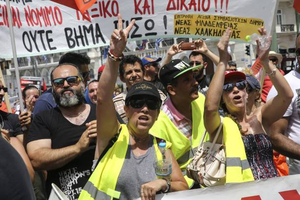 Municipal workers' strike continues in Athens Pictures | Getty Images