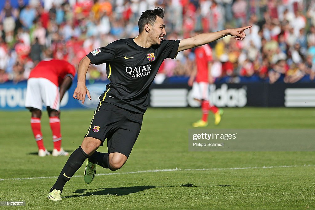 SL Benfica v FC Barcelona - UEFA Youth League Final : News Photo